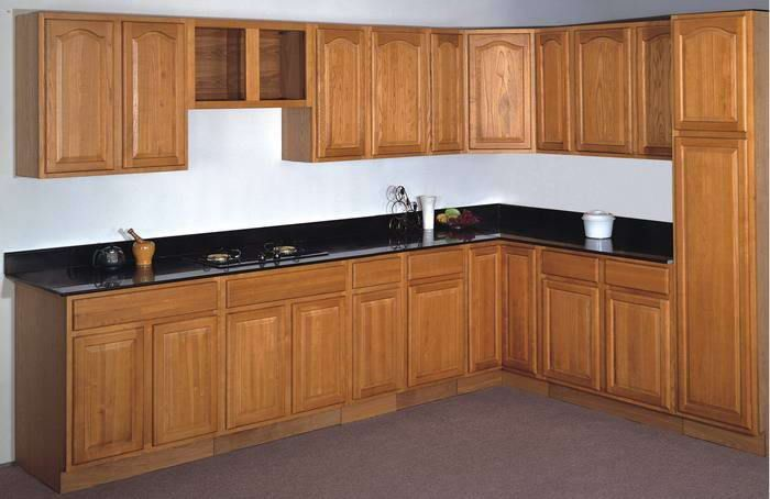 Wood Kitchen Cabinets From China