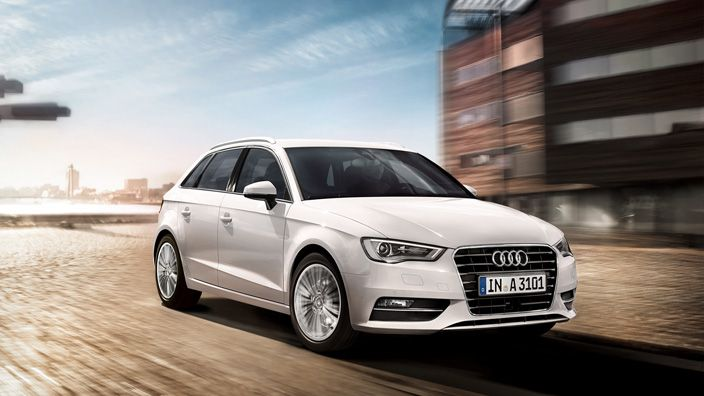 The new Audi A3 Sportback. Its design speaks a unique language; its dynamism is impressive on every trip. Experience our lead in a vehicle that is way ahead. Source: Audi AG