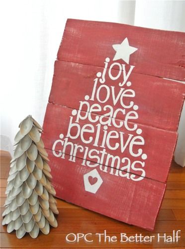 Great Christmas craft. I believe I could use my Silhouette for this one!!