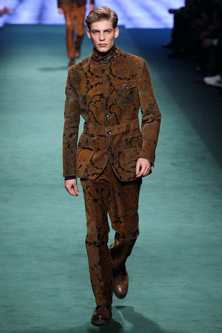 Etro - Fall 2015 Menswear - Look 1 of 56