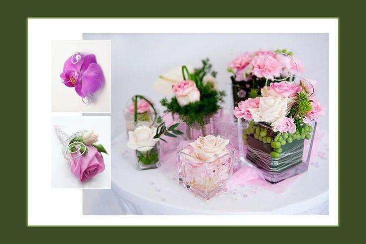Blumendeko im Glas oder in der Vase? - Russische Hochzeit in Deutschland