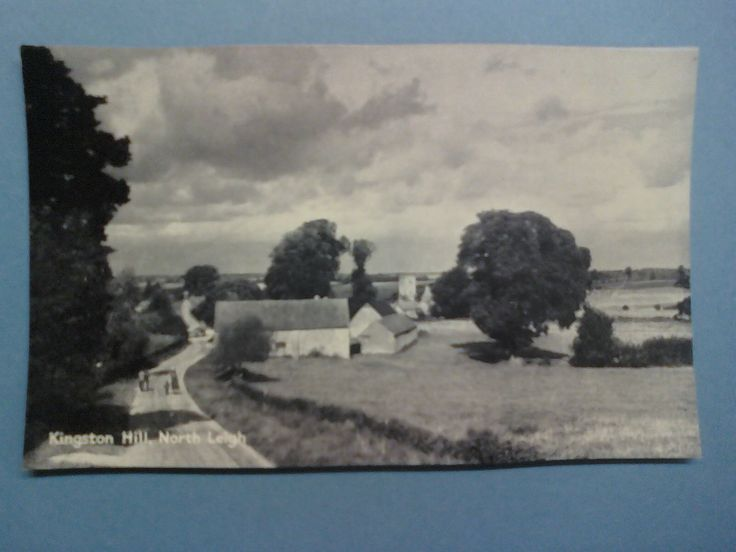 KINGSTON HILL - NORTH LEIGH in Collectables, Postcards, Topographical: British, England, Oxfordshire | eBay