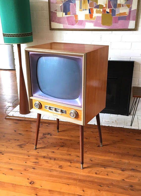 Vintage TV Radiola AWA Deep Image c1956 Australia for sale at