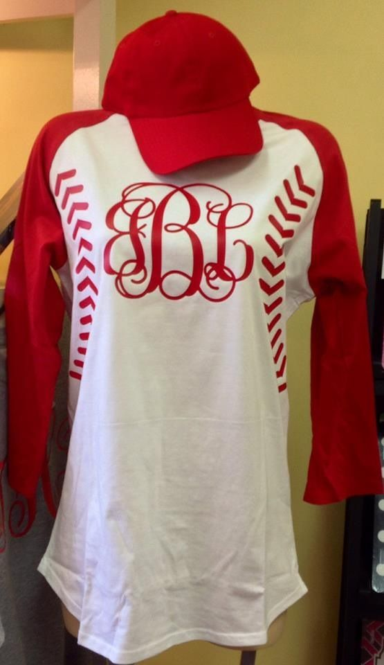 Monogram Baseball shirt!