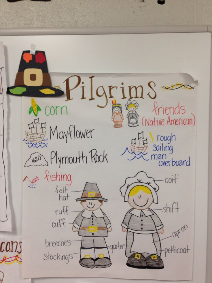 Pilgrim anchor chart