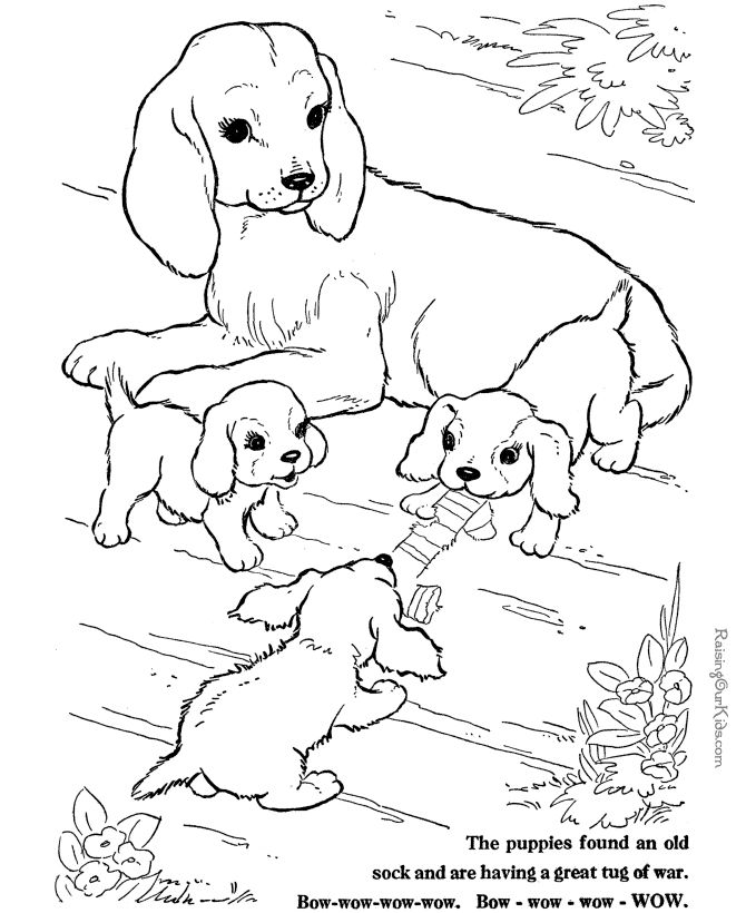 google coloring pages animals - photo#1