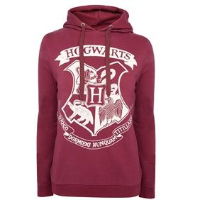 Show your allegiance to Harry Potter and pals by donning this maroon hoody!