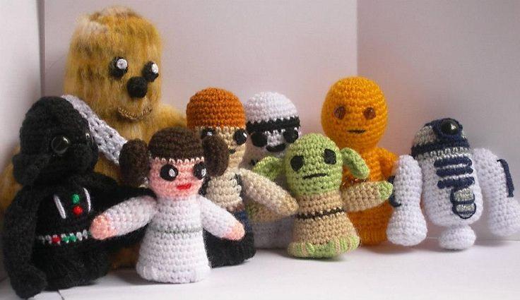 Apuesto a que recuerdas a estos personajes. Sí, es la saga completa de Star Wars! #StarWars