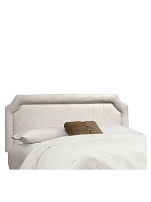 34% OFF Skyline Notched Headboard (Talc)