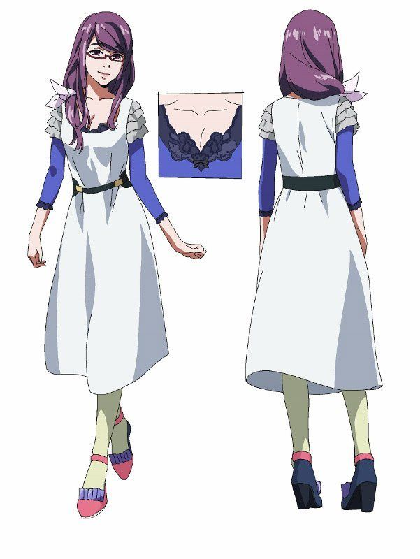 Character Anime Design Tutorial : Best images about rize tokyo ghoul on pinterest