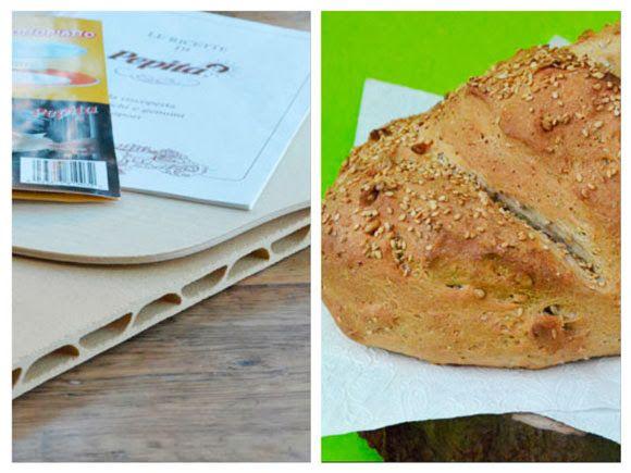 Carola Bakt Zoethoudertjes                : Brood en pizza bakken op een pizzasteen
