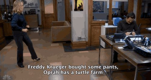 One of my favorite Parks and Rec moments