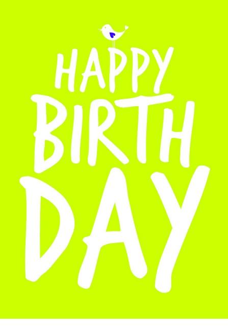 happy birthday green by VanDaan-, via Flickr