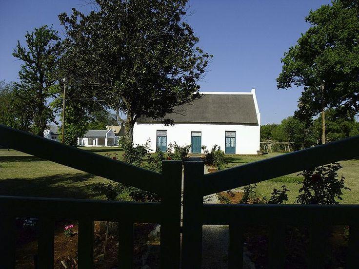 House of President M W Pretorius, Van der Hoff Avenue, Potchefstroom (new street name: Thabo Mbeki Drive)