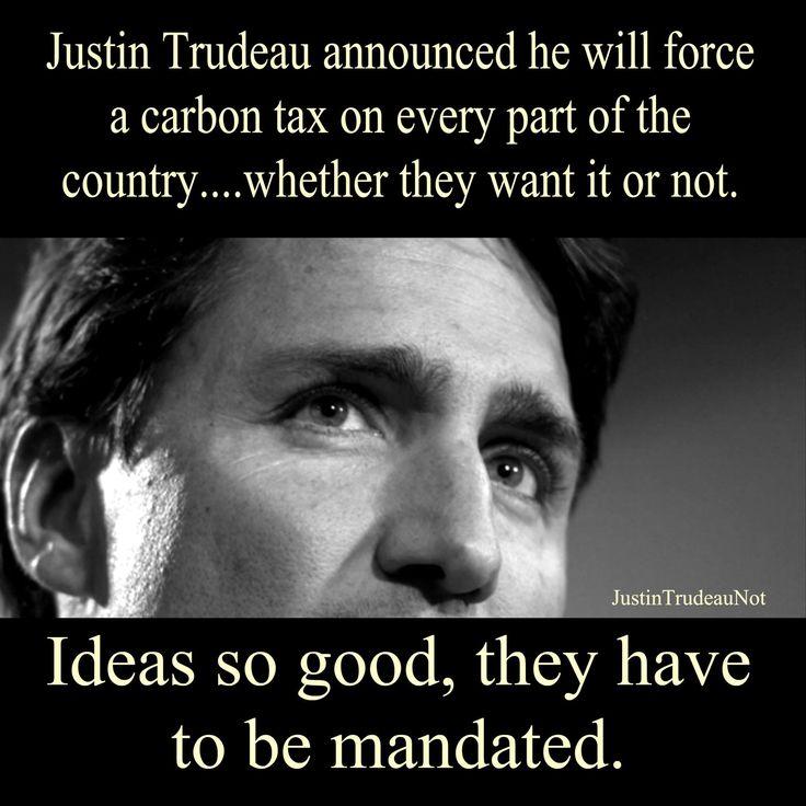 Justin Trudeau...