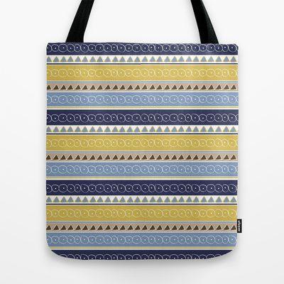 El Pueblo Tote Bag by designed to a T - $22.00