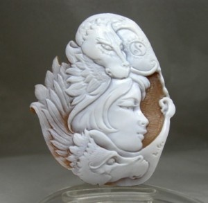 Dragon cameo: Captivating Cameo, Art, Jewelry Cameo, Beautiful Shells, Cameo Cameo, Dragon Cameo, Dragon Inspirations