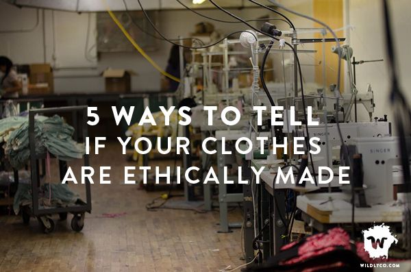 Have you ever found yourself wondering... Where are my clothes made and who makes them? How exactly do I know if my clothes are ethically made?