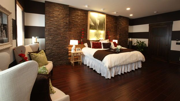 Our Faux Stone Siding Panels In Wellington Drystack Earth Create A Master Bedroom Accent Wall