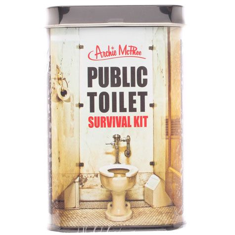 GET IT NOW Public Toilet Survival Guide from City Beach Australia