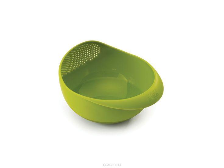 Миска-дуршлаг Joseph Joseph Prep&Serve, цвет: зеленый, диаметр 24,5 см