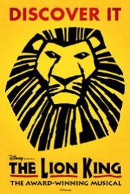 The Lion King Tickets poster