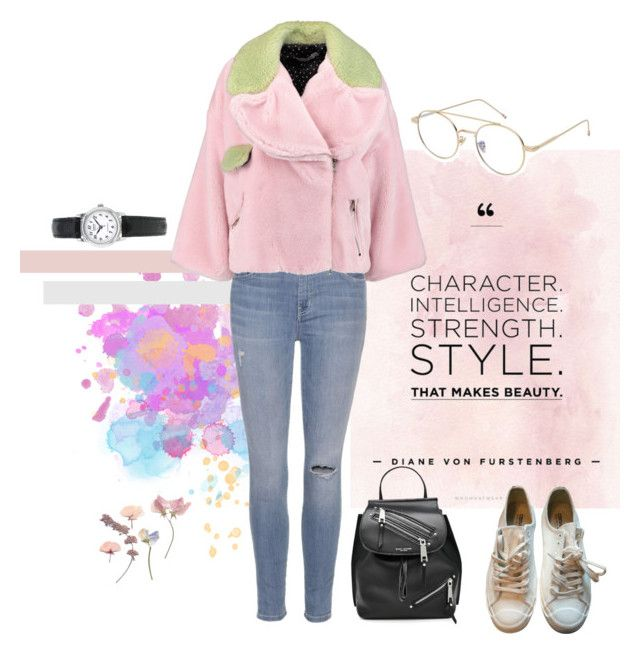 """Untitled #130"" by kryssicha on Polyvore featuring Current/Elliott, MANGO, VIVETTA, Marc Jacobs, Maison Margiela and Topshop"