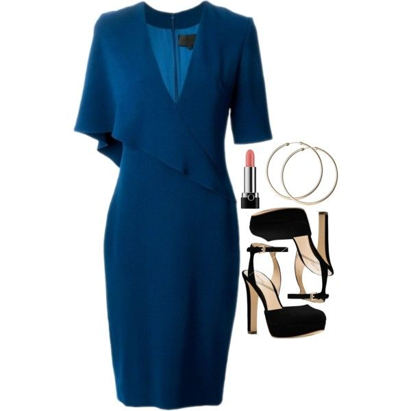 Donna Paulsen Inspired Outfit by daniellakresovic on Polyvore featuring Michael Kors, Marc Jacobs and Cushnie Et Ochs