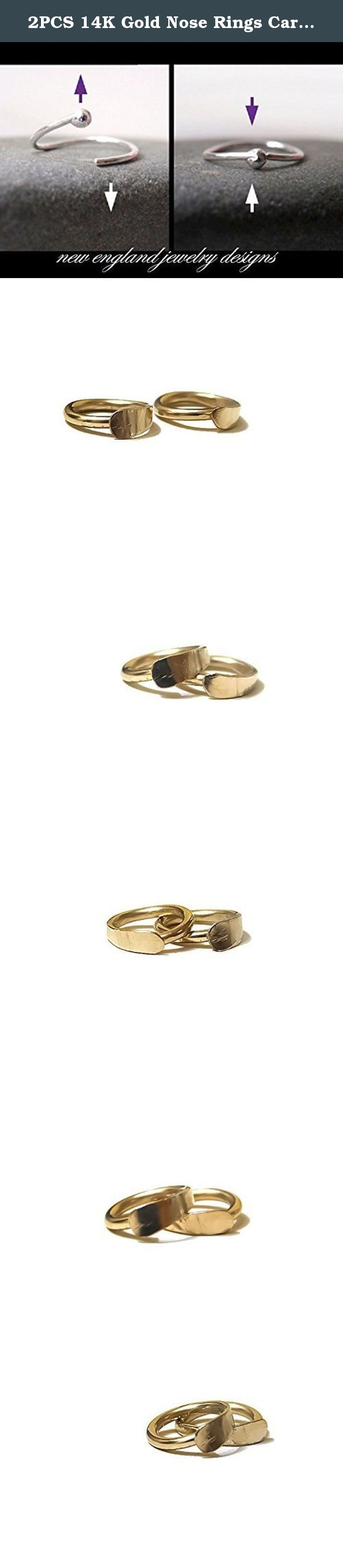 2PCS 14K Gold Nose Rings Cartilage Hoop Earrings Hammered Flat Ear Lobe Daith Helix Tragus 22G-16G 6MM-12MM. Gorgeous in 14k solid gold (hallmarked) set of two hammered hoops for piercings. These are forged by hand and one end is hammered to make it gradually wider and give them a smooth, satiny surface. The opposite end is fine finished for best comfort and then their polished to a high shine finish. These are available in 4 different gauges and in sizes (inner diameter) 6mm-12mm. The…