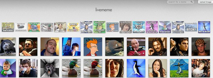 Websites for When You're Bored: Livememe