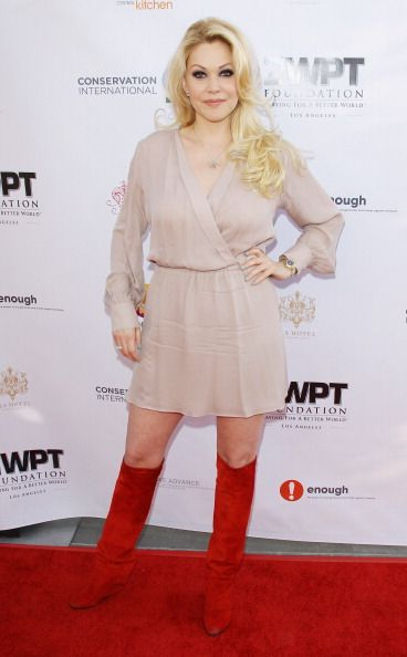 Shanna Moakler arrives at the WPT 'Playing For A Better World' Charity Poker Tournament kick off party held at The Bazaar at the SLS Hotel Beverly...
