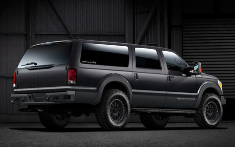 New Ford Excursion Rear Angle