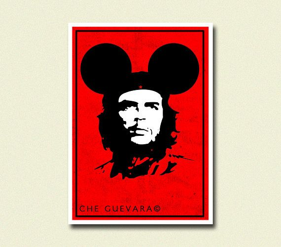 Buy 2 Get 1 FreeChe Guevara Parody Poster - Che Guevera Poster Anti Communism Poster Iconic Poster Gift Idea Cuba Poster