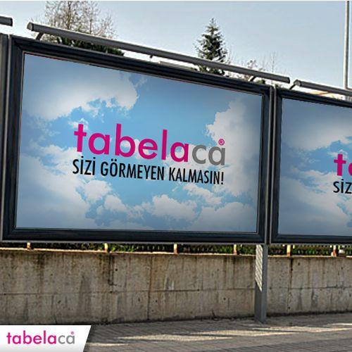 Billboard Tabela çalışmalarımızla, sizi görmeyen kalmasın!   #Tabelaca #Reklam #Billboard #Yol #Tanıtım