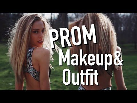 PROM MAKEUP AND OUTFIT 2016!   TheElizaRose    Dresses and accessories from #DavidsProm