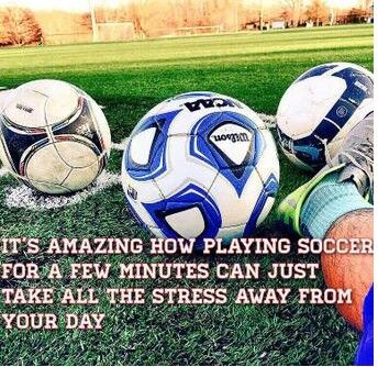 Seriously though! Have u tried kicking your anger out on the ball??!!!