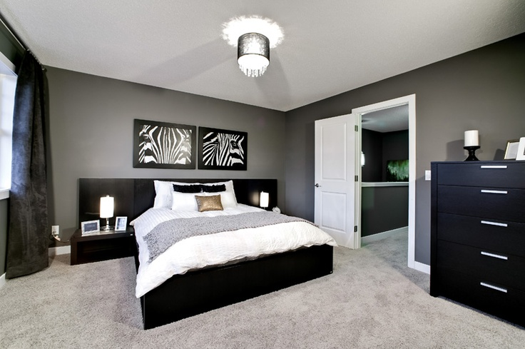 Owner's bedroom in the Arbour II Showhome by Creations by Shane Homes (Previous Showhome)