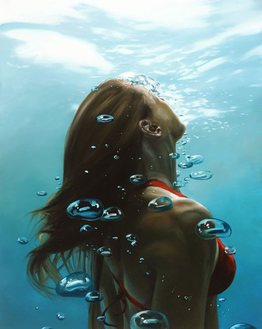 Acceptance, Painting by Eric Zener