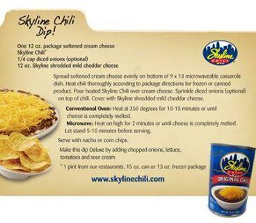 Skyline Chili Dip