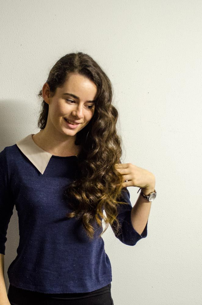 Natural Waves- Formal or wedding hair style