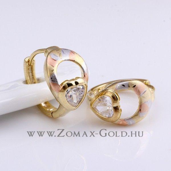 Viktoria fülbevaló - Zomax Gold divatékszer www.zomax-gold.hu