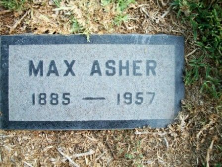 """Max Asher - Actor. Known as """"The Funniest Dutch Comedian in Pictures,"""" Asher appeared in early Laurel & Hardy and Charly Chase films. He co-starred in a handful of """"Mike and Jake"""" movies in the early teens. He started his career in vaudeville and in 1912 joined Mack Sennett and onto Universal's """"joker comedies"""" unit where he starred in a series of his own comedy shorts."""