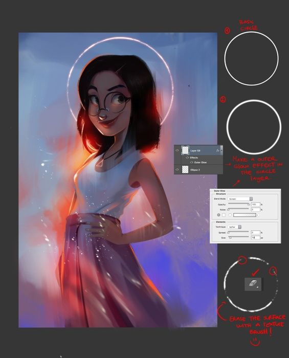 How To Draw A Cartoon Girl In Adobe Photoshop Free Adobe Photoshop Tutorial Photoshop Tutorial Drawing Photoshop Tutorial Adobe Photoshop Tutorial