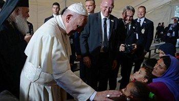 Ο πάπας Φραγκίσκος καταγγέλλει τα στρατόπεδα συγκέντρωσης για πρόσφυγες   Ο πάπας Φραγκίσκος κατήγγειλε τα στρατόπεδα συγκέντρωσης για πρόσφυγες κατά τη διάρκεια της τελετής για τους χριστιανούς μάρτυρες στην μνήμη του ιερέα Ζαν Αμέλ... from ΡΟΗ ΕΙΔΗΣΕΩΝ enikos.gr http://ift.tt/2ogib9D ΡΟΗ ΕΙΔΗΣΕΩΝ enikos.gr
