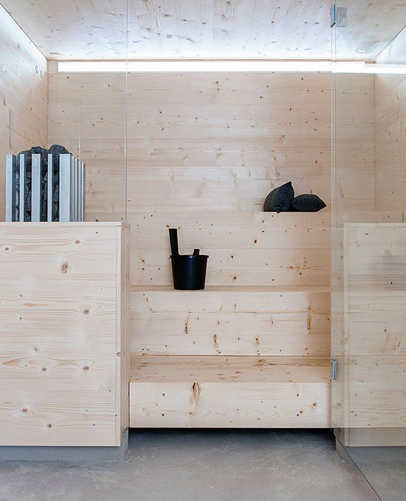 Stylish Finnish Sauna - via Coco Lapine