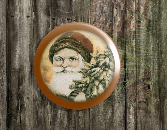 Drawer Pulls Vintage Santa Clause Cabinet Pull Handles Old Fashion
