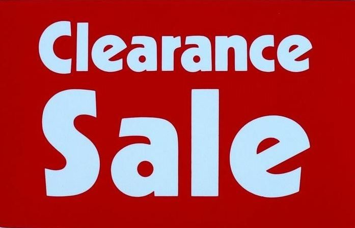 EBAY CLEARANCE SALE: I've added new listings today - you'll find reductions in price on new and used items for men, women and children as well as items for your home.