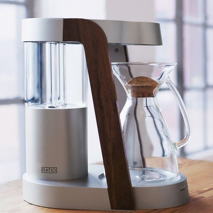 The Ratio Coffee Brewer - handmade in Portland, in small batches. Amazing design + I bet the coffee it makes is sublime!