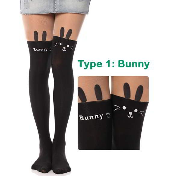 Cat Tower Tattoo Socks Sheer Pantyhose Mock Stockings Bunny | Stocking & Kaos Kaki | gudangaksesorisimport.com Grosir Fashion Termurah dan Terbesar di Indonesia Cute and elegance REPIN if you agree. Only 99.5 IDR