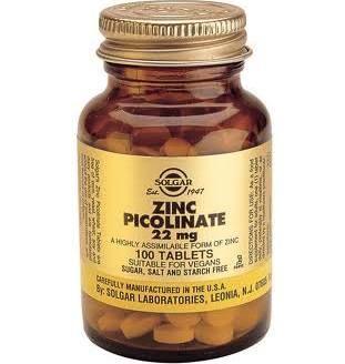 Zinc picolinate wordt drie maal beter opgenomen dan citrate. Mensen met een fructose malabsorptie hebben vaak een mineralen gebrek (zink, mangaan, chroom) en een vitamine B tekort (zoals foliumzuur, B6, B12, B2).
